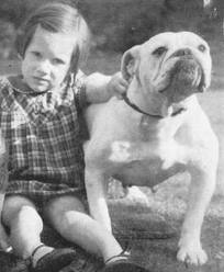 child-with-english-bulldog